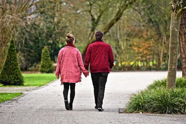 procházka ve dvou