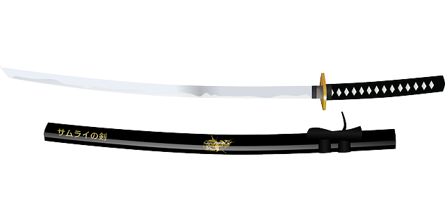 meč samuraje
