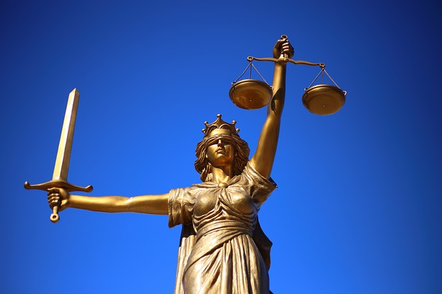 socha paní spravedlnost