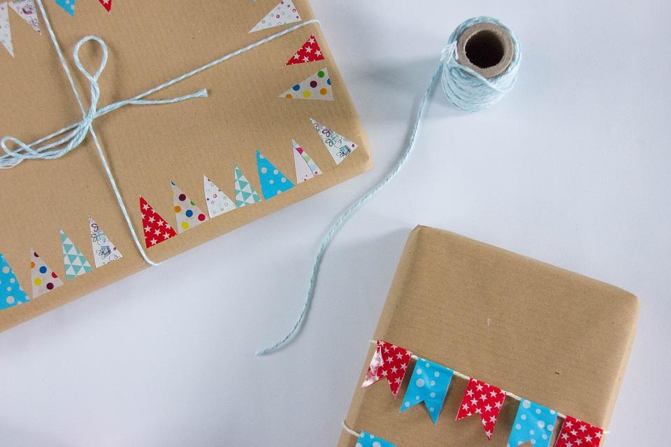 zabalené balíky